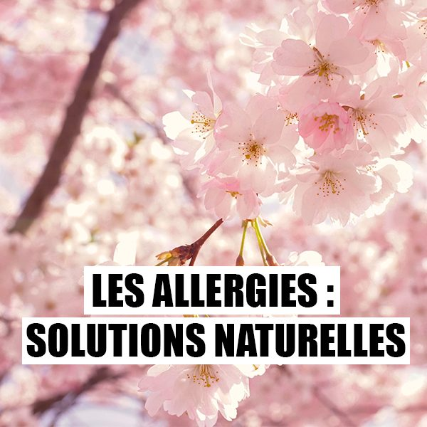 Les Allergies : Solutions naturelles